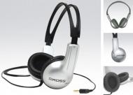 Sluchátka Koss Stratus (doživotní záruka) - černá/stříbrná