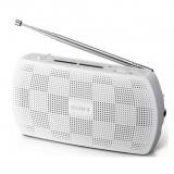 Radiopřijímač Sony SRF-18, bílý