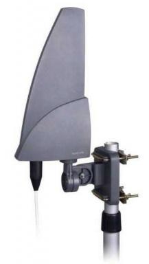 Venkovní anténa Evolveo Shark 35dB, aktivní DVB-T/T2