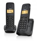 Domácí telefon Siemens Gigaset A120 duo - černý