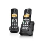 Domácí telefon Siemens Gigaset A220A DUO - černý