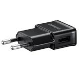 Nabíječka do sítě Samsung ETA0U80, 1x USB, 1A + MicroUSB kabel - černá
