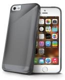 Kryt na mobil Celly Gelskin pro Apple iPhone 5 - černý