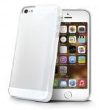 Kryt na mobil Celly Gelskin pro Apple iPhone 5/5s/SE - průhledný