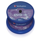 Disk Verbatim DVD+R 4,7GB, 16x, 50cake