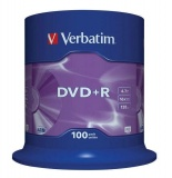 Disk Verbatim DVD+R 4,7GB, 16x, 100cake