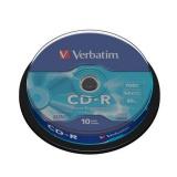 Disk Verbatim Extra Protection CD-R 700MB/80min, 52x, 10-cake