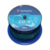 Disk Verbatim CD-R DL 700MB/80min, 52x, Extra Protection,  50cake