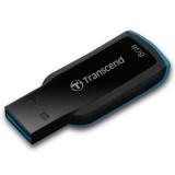 Flash USB Transcend JetFlash 360 8GB USB 2.0 - černý/modrý