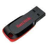 Flash USB Sandisk Cruzer Blade 16GB USB 2.0 - černý