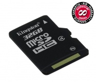 Paměťová karta Kingston MicroSDHC 32GB Class4