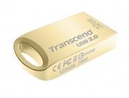 Flash USB Transcend JetFlash 510G 32GB USB 2.0 - zlatý/kovový