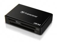 Čtečka paměťových karet Transcend RDF8 USB 3.0 - černá