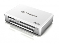 Čtečka paměťových karet Transcend RDF8 USB 3.0 - bílá