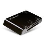 Čtečka paměťových karet Transcend P8-K - černá