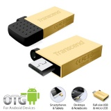 USB Flash Transcend JetFlash 380G 16GB micro USB 2.0 - zlatý
