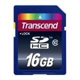 Paměťová karta Transcend SDHC 16GB Class10
