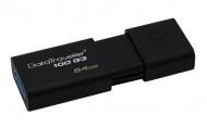 Flash USB Kingston DataTraveler 100 G3 64GB USB 3.0 - černý