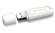 Flash USB Transcend JetFlash 730 64GB USB 3.0 - bílý