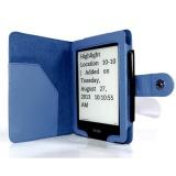 Pouzdro pro čtečku knih C-TECH AKC-06 pro Amazon Kindle PaperWhite, Wake / Sleep - modré