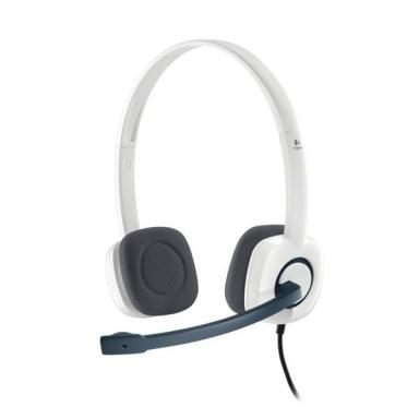 Headset Logitech Stereo H150 - coconut