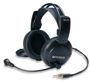 Headset Koss SB 40 - černý
