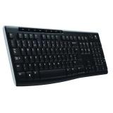 Klávesnice Logitech Wireless Keyboard K270 CZ/SK - černá