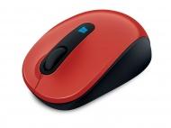 Myš Microsoft Sculpt Mobile /BlueTrack / 3 tlačítka / 1000dpi - červená
