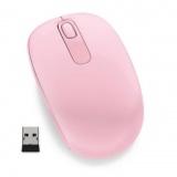 Myš Microsoft Wireless Mobile Mouse 1850 Light Orchid / optická / 2 tlačítka / 1000dpi - růžová