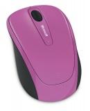 Myš Microsoft Wireless Mobile Mouse 3500 / optická/ 3 tlačítka/ 1000DPI - růžová