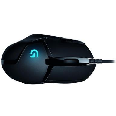 Myš Logitech Gaming G402 Hyperion Fury / laserová / 8 tlačítek / 4000dpi - černá
