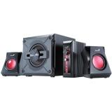 Reproduktory Genius GX Gaming SW-G 2.1 1250 - černé/červené