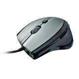 Myš Trust MaxTrack / optická / 6 tlačítek / 1600dpi - černá/stříbrná