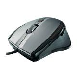 Myš Trust MaxTrack Mini / optická / 6 tlačítek / 1000dpi - černá/stříbrná