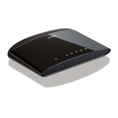 Switch D-Link DES-1005D 5 port, 10/100 Mb/s