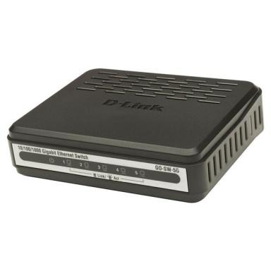 Switch D-Link GO-SW-5G 5 port, Gigabit