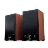 Reproduktory Genius SP-HF1250B 2.0 - černé/imitace dřeva