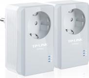 Síťový rozvod LAN po 230V TP-Link TL-PA4010P KIT 500 Mb/s, průchozí