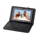 """Pouzdro na tablet s klávesnicí GoGEN univerzal 7"""", polohovací - černé"""
