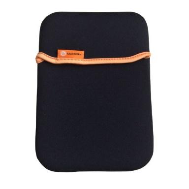 "Pouzdro na tablet GoGEN neoprenové na 7"" - černé/oranžové"