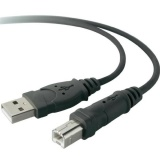 Kabel Belkin USB / USB-B, 1,8m - černý