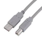 Kabel Hama USB / USB-B, 3m - šedý