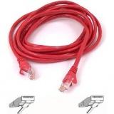 Kabel Belkin síťový (RJ45), 5m - červený