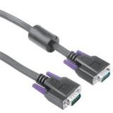 Kabel Hama VGA, 1,8m - černý
