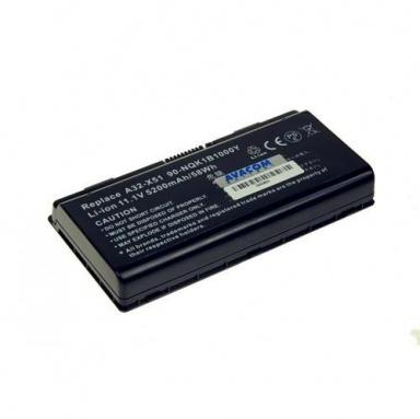Baterie Avacom pro Asus X51, X58 series A32-X51, A32-T12 Li-ion 11,1V 5200mAh/58Wh