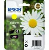 Inkoustová náplo Epson T1804, 180 stran originální - žlutá