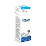 Inkoustová náplň Epson T6642, 70ml originální - modrý