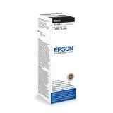 Inkoustová náplň Epson T6641, 70ml originální - černý