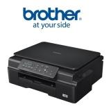 Tiskárna multifunkční Brother DCP-J105, INK Benefit A4, 27str./min, 10str./min, 6000 x 1200, 64 MB, WF, USB - černá