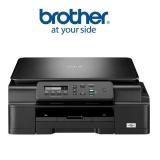 Tiskárna multifunkční Brother DCP-J100, INK Benefit A4, 27str./min, 10str./min, 6000 x 1200, 64 MB, USB - černá